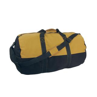 Texsport 2-Tone Zippered Canvas Duffle Bag