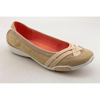 Auditions Women's 'Black Sun Coast' Leather Casual Shoes - Extra Wide