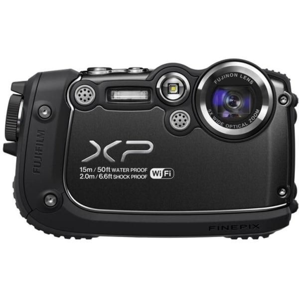 Fujifilm FinePix XP200 16.4 Megapixel Compact Camera - Black