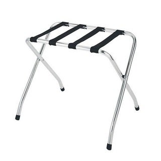 Chrome 26.1-inch Luggage Rack