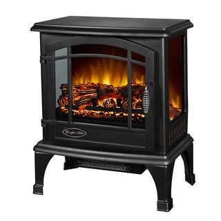Comfort Glow Sanibel Black Electric Stove