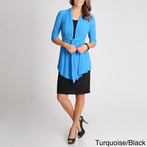 R & M Richards Women's Mock 2-piece Jacket Dress