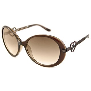 Guess Women's GU7107 Oval Sunglasses