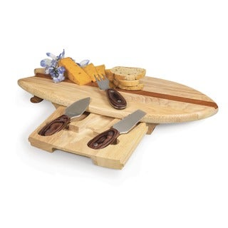 Surfboard Cutting/ Serving Board with Tools
