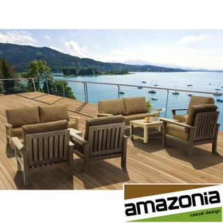San Francisco Deluxe 8-piece Deep Seating Patio Furniture Set