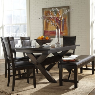 Osage 6-Piece Extendable Espresso Rectangle Dining Set