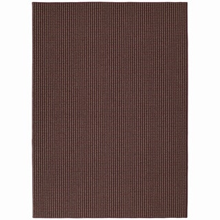 Granville Berber Brick Red Area Rug (5' x 7')