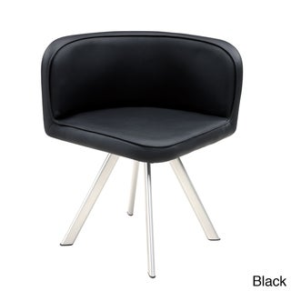 Low Back PU Dining Chair