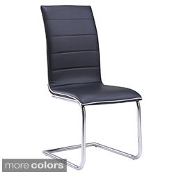 High Back PU Dining Chair