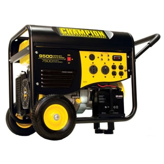 Champion 9500-watt Portable Electric Start Generator