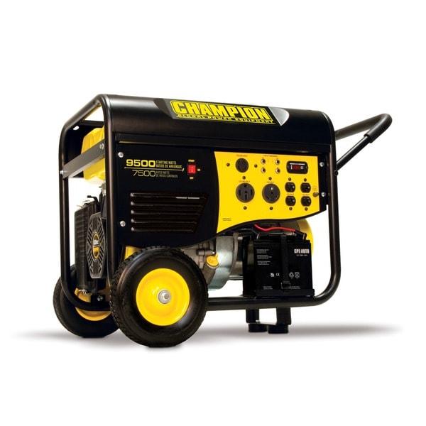 Champion 9500-watt Portable Electric Start Generator