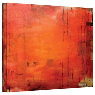 Jim Morana 'Red Forest' Gallery-Wrapped Canvas