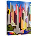 Jim Morana 'Maximum City' Gallery-Wrapped Canvas