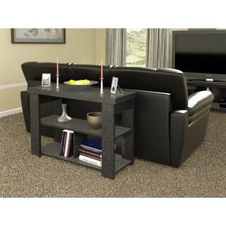 Altra Black Ebony Ash Hollow Core Sofa Table