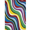 Hand-tufted Multi Color Wool Blend Rug (9' x 12')