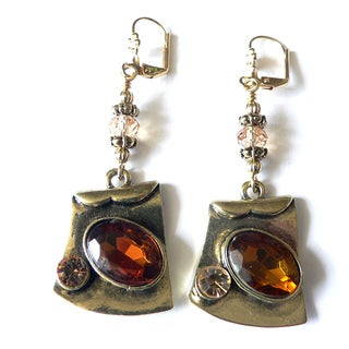 'Amber' Dangle Earrings