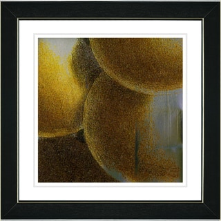 Studio Works Modern 'Fruit Cluster - Yellow' Framed Print