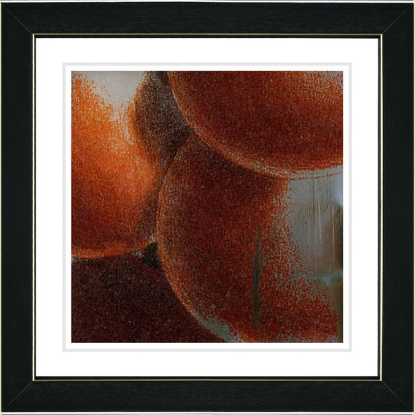 Studio Works Modern 'Fruit Cluster - Orange' Framed Print