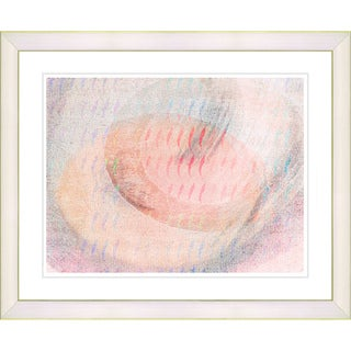Studio Works Modern 'Wind Play - Peach' Framed Print
