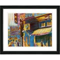 Studio Works Modern 'Jazz Waterfront' Framed Print