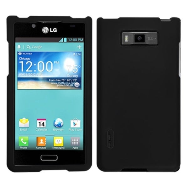 BasAcc Black Phone Case for LG US730 Splendor/ 730 Venice