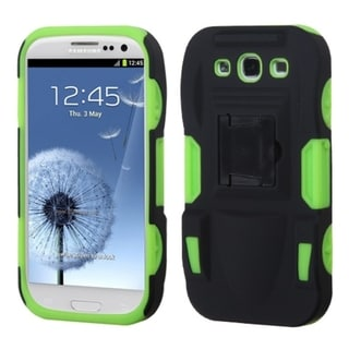 BasAcc Advanced Armor Stand Case for Samsung Galaxy S3/ S III