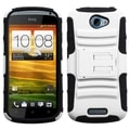BasAcc White/ Black Case with Stand for HTC One S