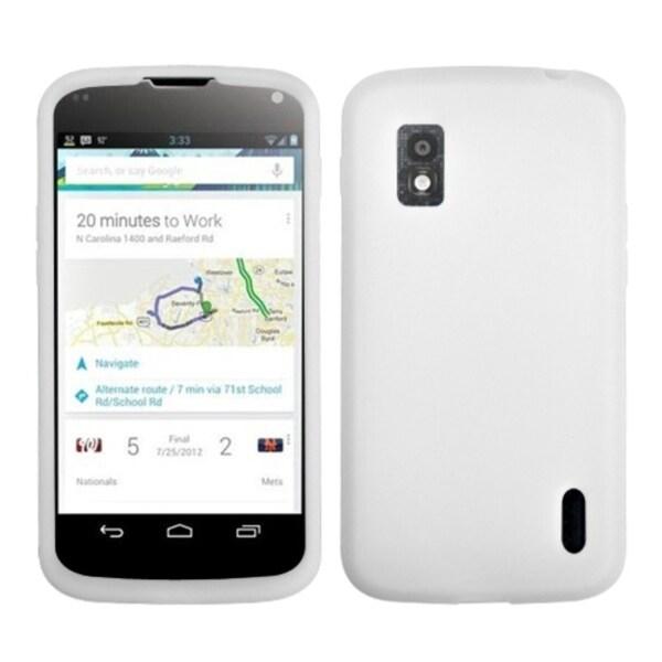 BasAcc Solid White Case for LG E960 Nexus 4