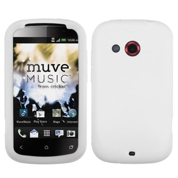 INSTEN Solid White Phone Case Cover for HTC Desire C