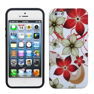 BasAcc Hibiscus Flower Romance Candy Skin Case for Apple iPhone 5