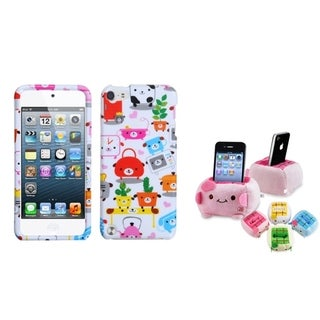 Insten Dog Lifestyle iPod Case Cover/ Holder for Apple iPod Touch Generation 5th/ 6th