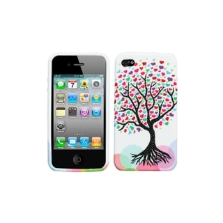 BasAcc Love Tree Candy Skin Case for Apple� iPhone 4/ 4S