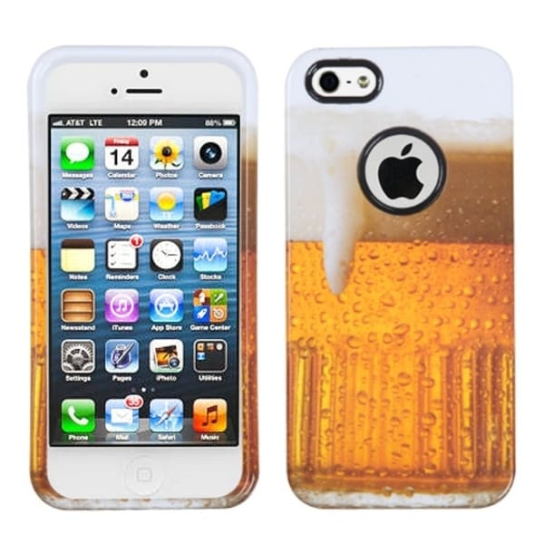 BasAcc Beer-Food Fight Collection Protector Case for Apple® iPhone 5