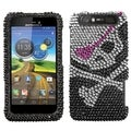 BasAcc Skull Diamante Protector Case for Motorola MB886 ATRIX HD