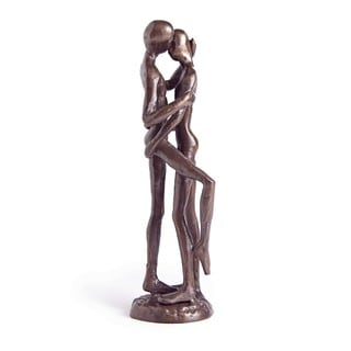 Couple Embrace Bronze Sculpture