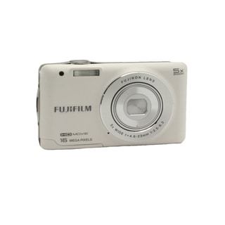 Fujifilm FinePix JX650 16MP White Digital Camera