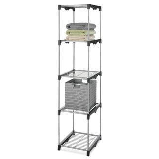 Whitmor Closet Rod System Storage Rack