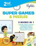 Sylvan Learning 2nd Grade Super Games & Puzzles (Paperback)