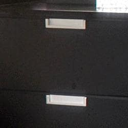 Noho Gallery 2-piece Black Nightstand Set