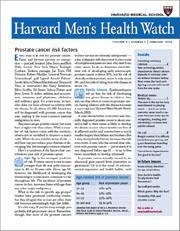 Harvard Men's Health Watch, 12 issues for 1 year(s)