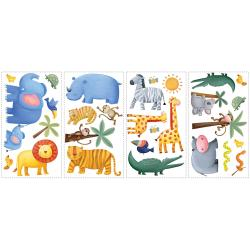 RoomMates Jungle Adventure Peel and Stick Wall Decals