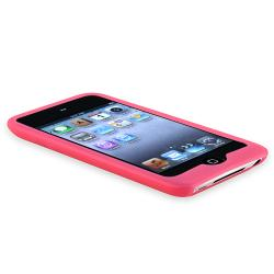 Blue/ Pink/ White/ Black Case for Apple iPod Touch 4th Generation