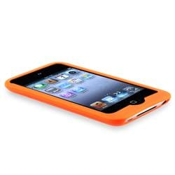 Blue Skin Case/ Orange Skin Case for Apple iPod Touch 4th Generation