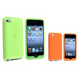 Orange Skin Case/ Green Skin Case for Apple iPod Touch 4th Generation
