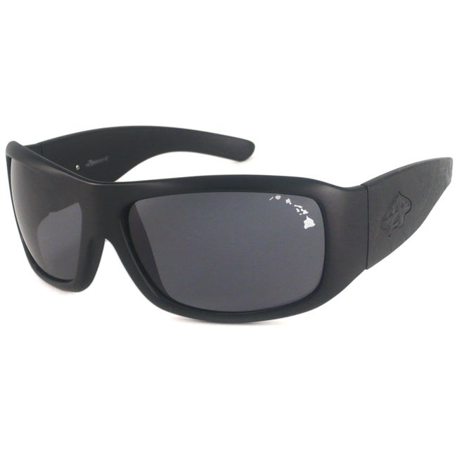 Anarchy Men's Consultant Polarized Wrap Sunglasses