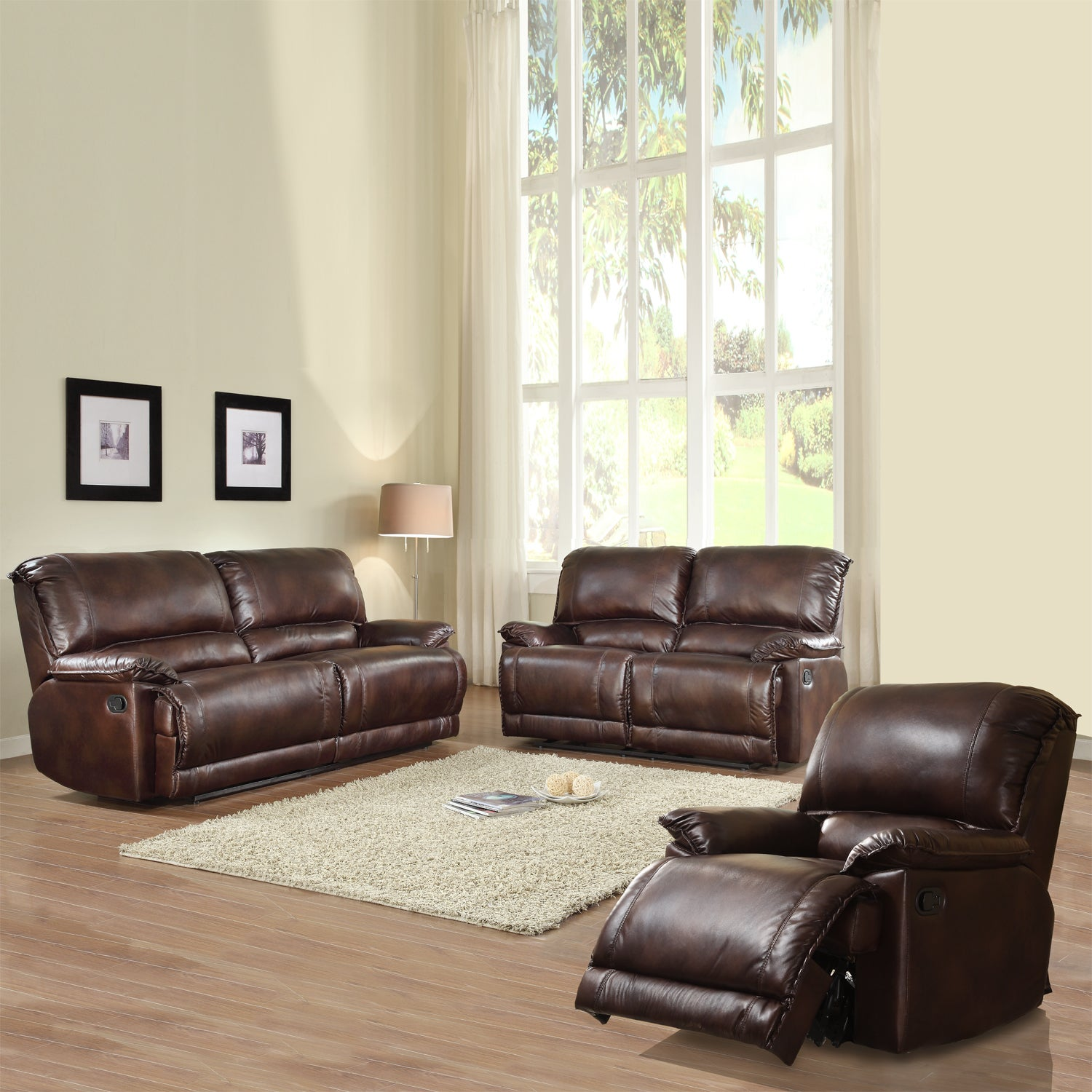 Dursley Reclining Living Room Set (Set of 3)