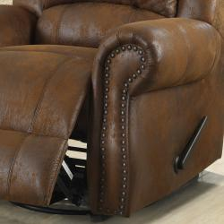 Canvey Brown Reclining Living Room Set (Set of 3)