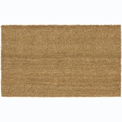 Creative Coir/ Rubber Door Mats (1'5 x 2'5) (Set of 2)