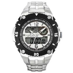 Certus Paris Men's Stainless Steel Black Digital Dial Watch