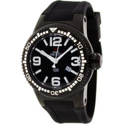 Swiss Precimax Men's Titan Black Dial Watch